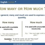 <!--:fr-->Leçon De Grammaire En Anglais: How Much/How Many<!--:--><!--:en-->English Grammar Lesson: How Much/How Many<!--:-->
