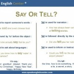 <!--:fr-->Leçon de Grammaire: Tell or Say?<!--:--><!--:en-->Grammar Lesson: Tell or Say?<!--:-->