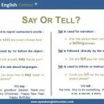<!--:fr-->Leçon de Grammaire: Tell or Say?<!--:--><!--:en-->Grammar Lesson: Tell or Say?<!--:-->